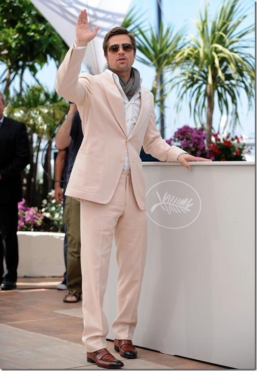 Brad Pitt Suit Image
