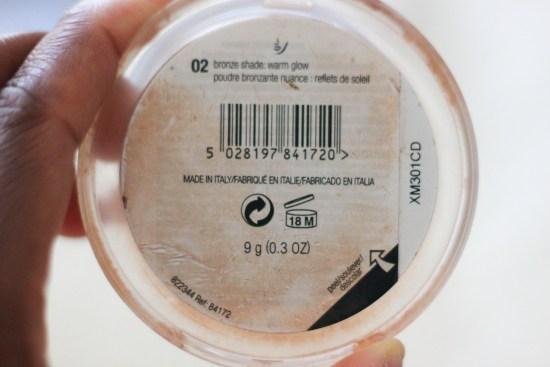 Bronzer Makeup Image