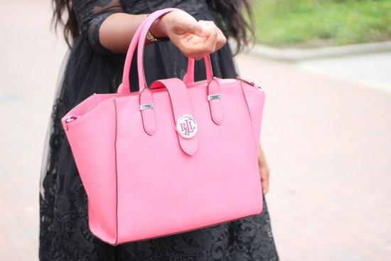 Ralph Lauren Pink Bag Image