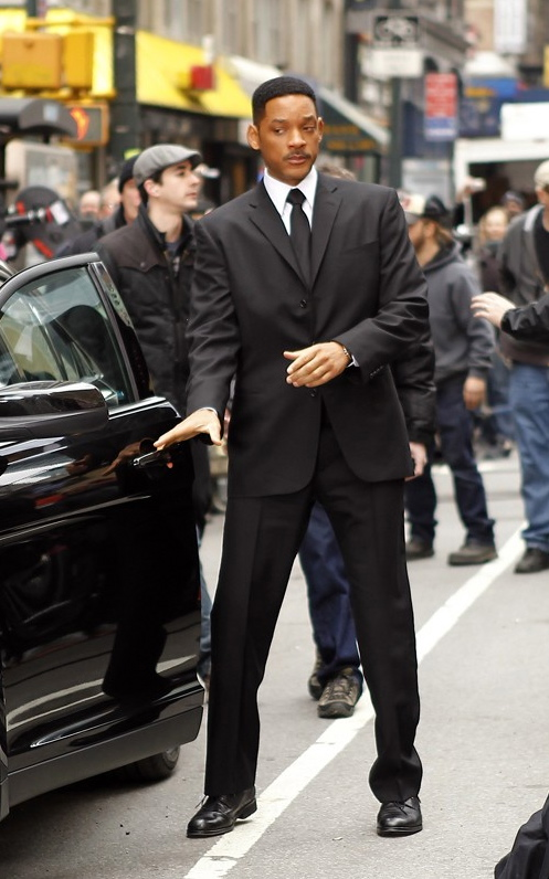 Will Smith Men in Black Suit Image