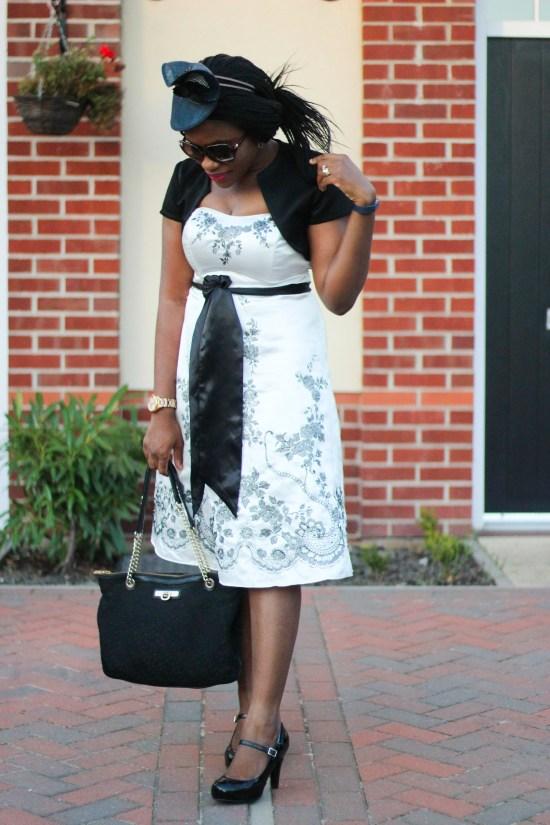 Black tie dress image