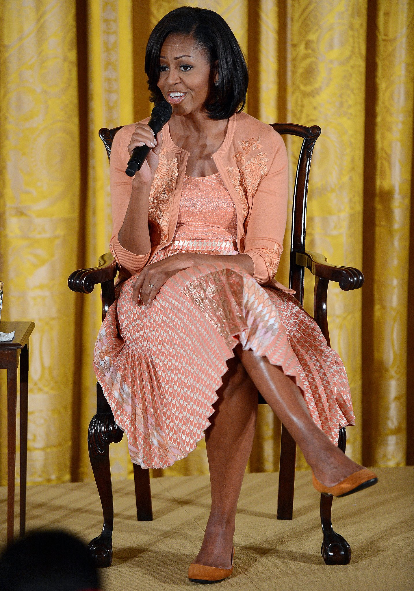 The Style Icon Michelle Obama Fashionandstylepolice Fashionandstylepolice