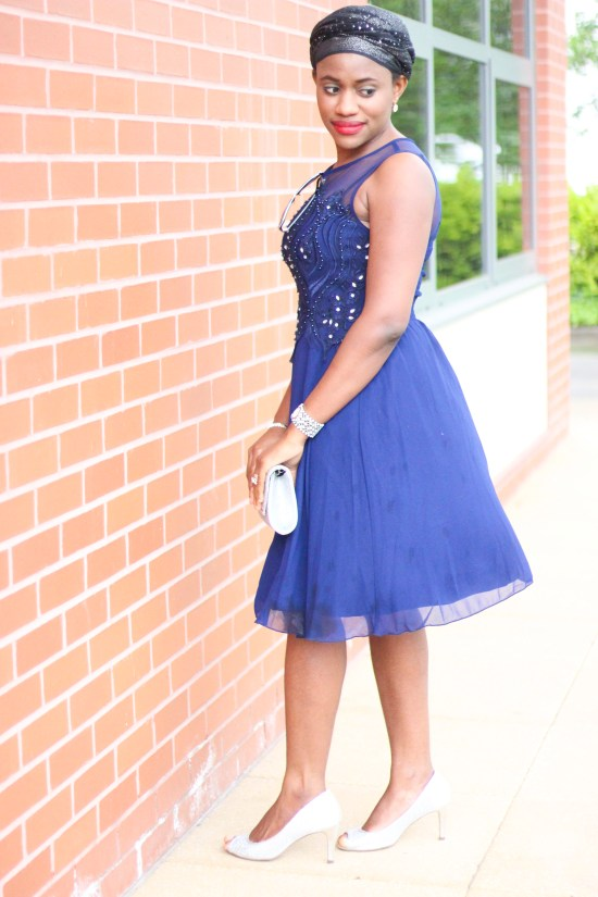 Navy Blue Dress image copy