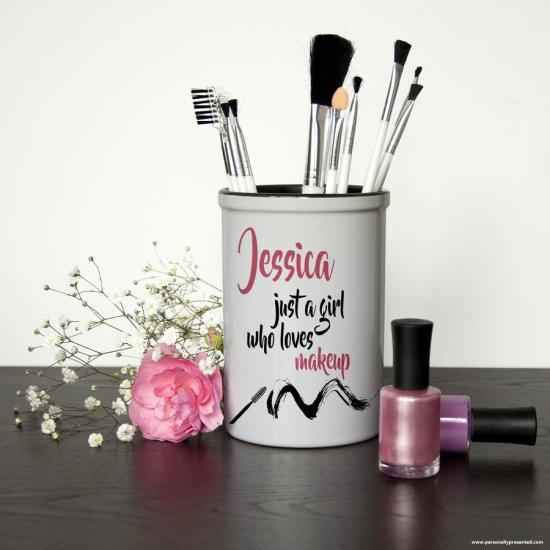 Makeup brush holder image
