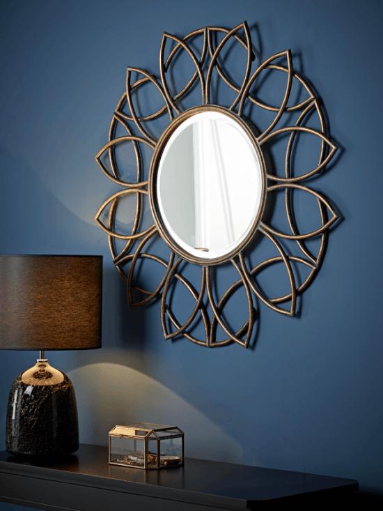 Wall mirror image