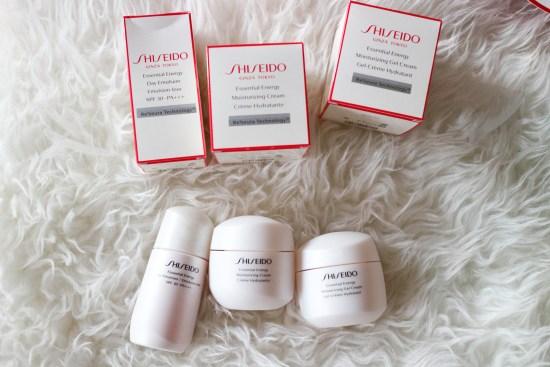 Shiseido Skincare products Image