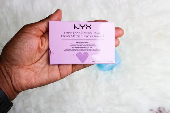 NYX Blotting Paper Image