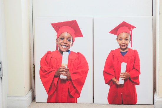 Preschooler graduation pictures image
