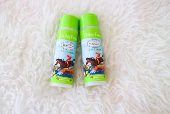 Childs Farm Sensitive Swim Strawberry & Organic Mint 250ml image