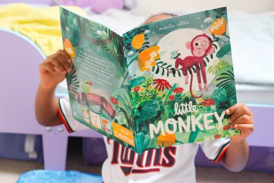 Little Monkey Book image