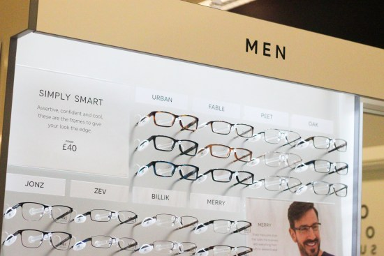 Men Designer Glasses Picture