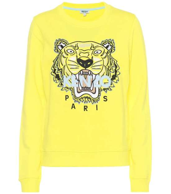 Tiger Logo cotton sweatshirt picture