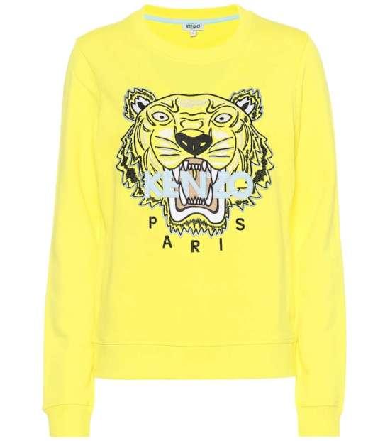 Tiger Logo cotton sweatshirt picture