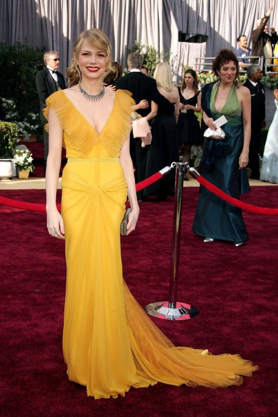 2006 – Michelle Williams in Vera Wang image