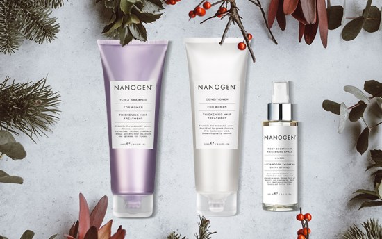 Nanogen Hair Thickening Set Giveaway image