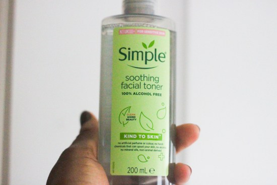 Facial toner review image