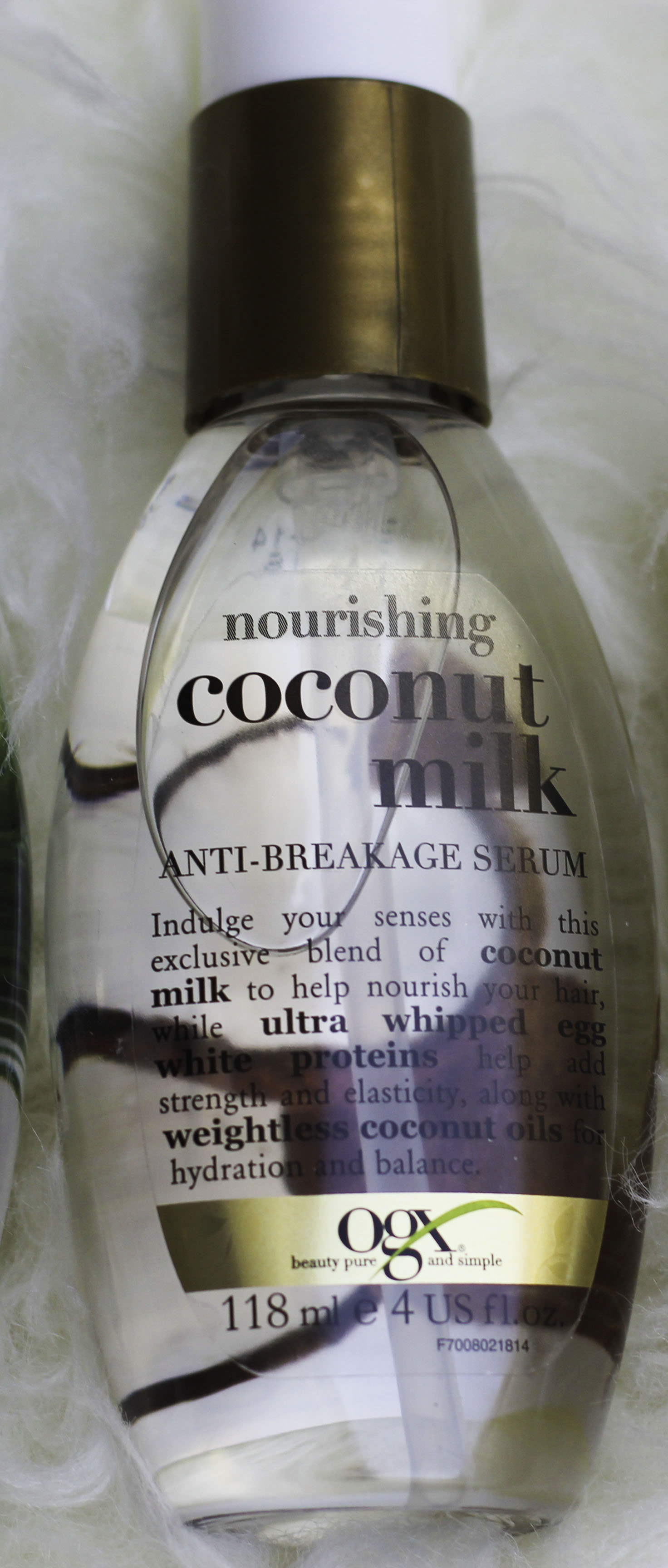 Product Review OGX Coconut Milk Hair Range