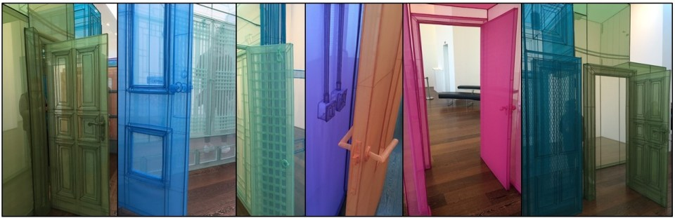 Details from Do Ho Suh's Passage / s