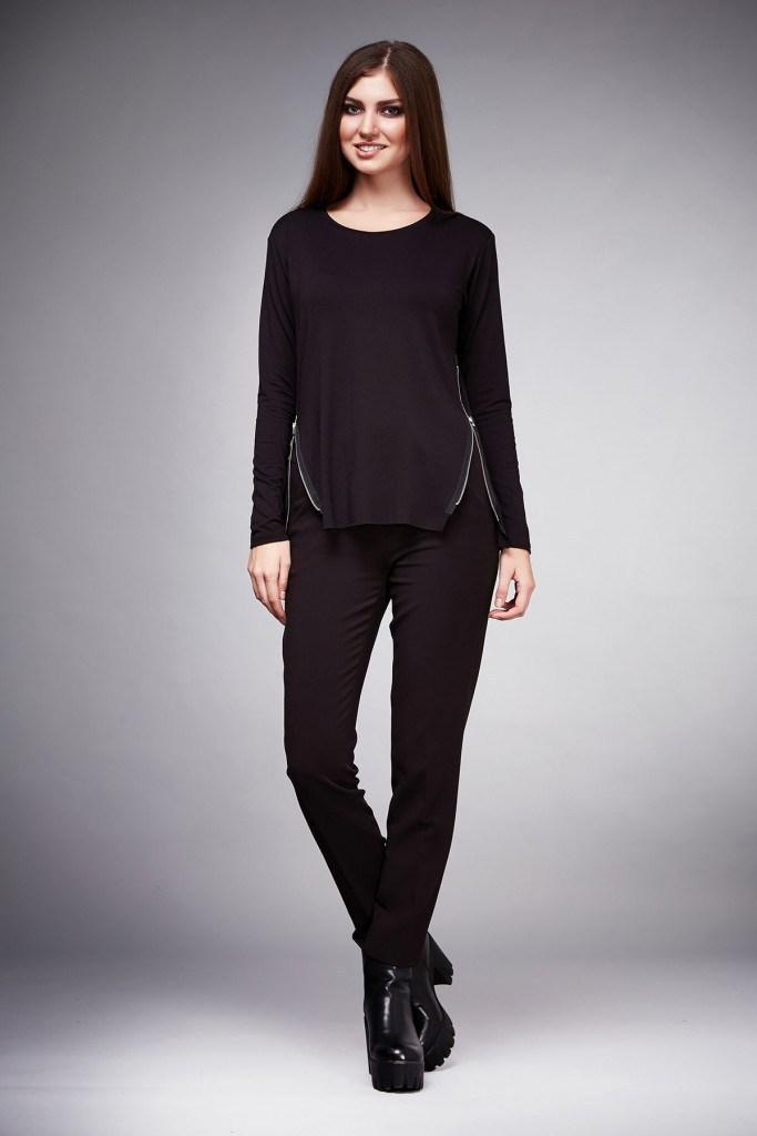 eefb794c69d Учитывая прямой крой изделия, брюки данного стиля прекрасно подходят  представительницам всех типов фигур. В новом сезоне дизайнеры предлагают  сочетать ...