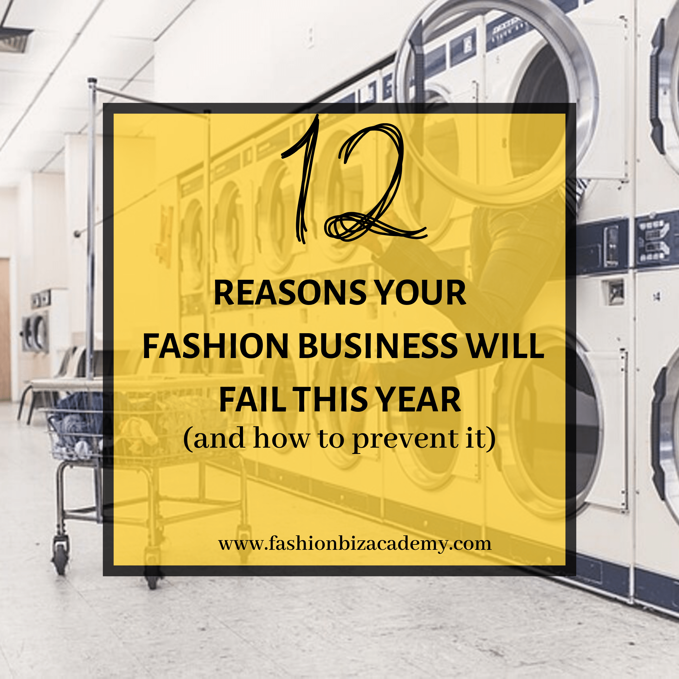 Reason your business will Fail This Year graphic