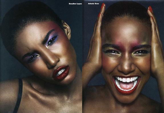 Sessilee Lopez Arlenis Sosa i-D Magazine September 2009