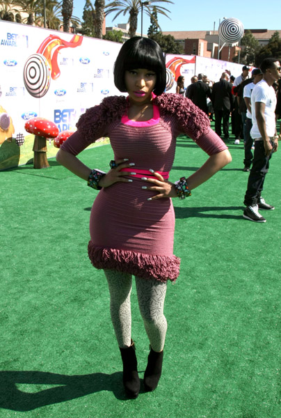Nicki Minaj 2011 BET Awards