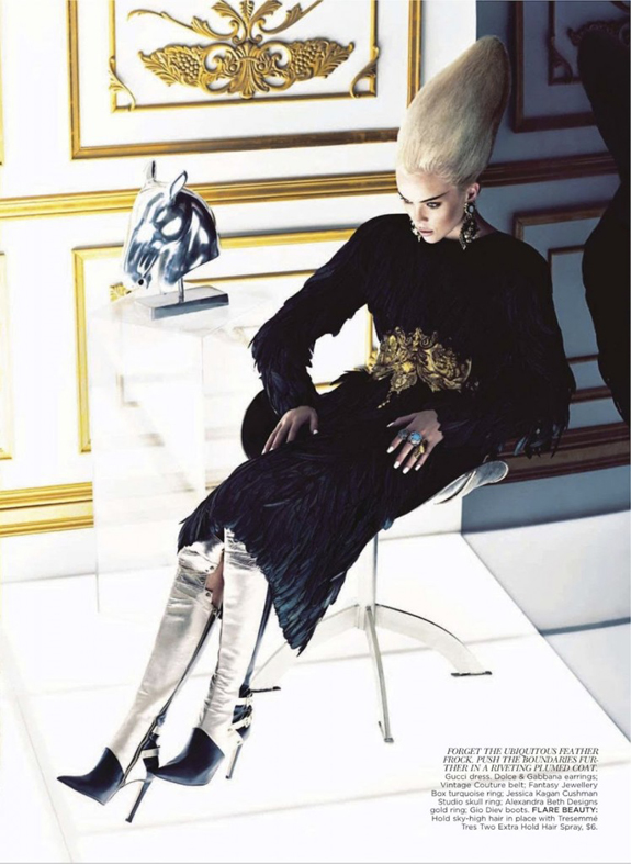 flare-2012-09-sep-dragged-17-Hannah Glasby and Melie by Chris Nicholls for Flare Magazine September 2012
