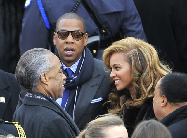 beyonce jay-z inauguration 2013
