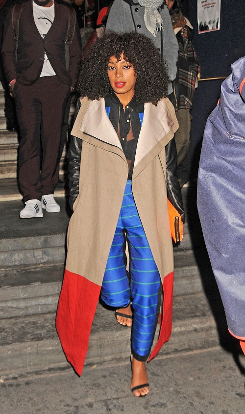 solange-knowles-new-york-city-michelle-mason-leather-sleeve-coat-opening-ceremony-bradley-faille-jacket-and-pants