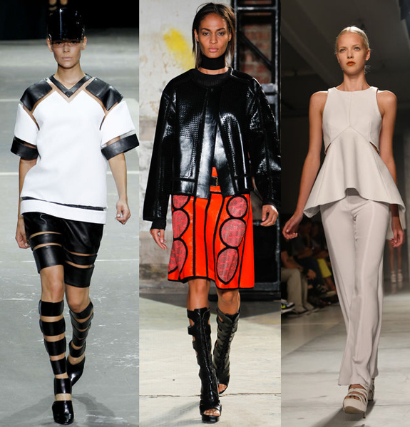 From Left: Alexander Wang, Proenza Schouler, Sally LaPointe