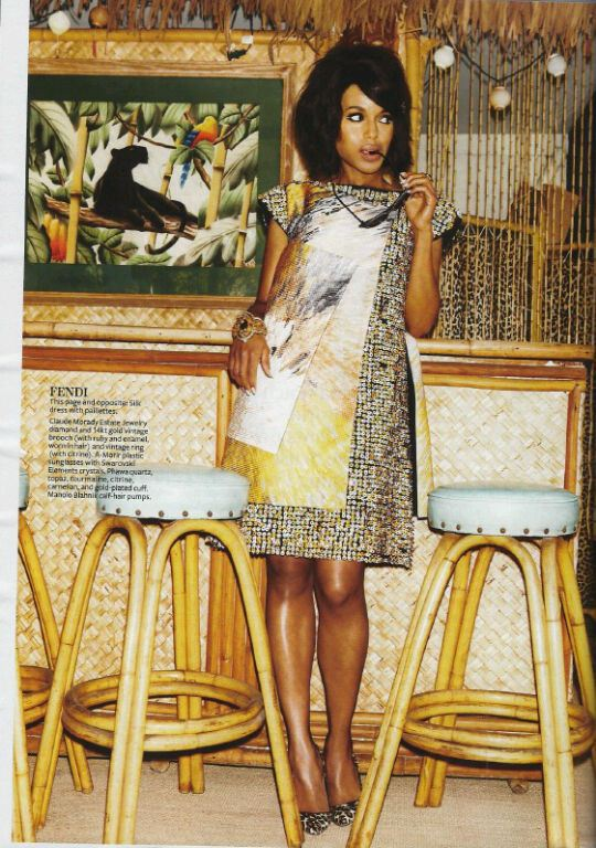 1 Kerry Washington by Jennifer Livingston for In Style May 2013
