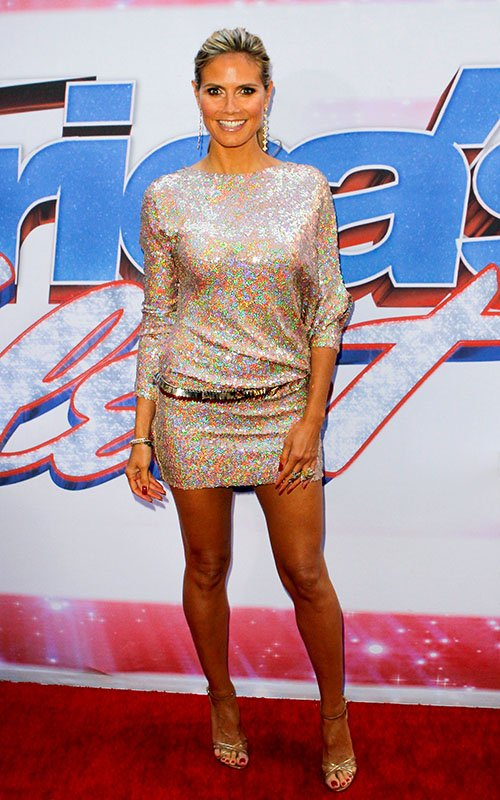 heidi-klum-americas-got-talent-new-york-auditions-talbot-runhof-fall-2012-dress-dolce-gabbana-sandals-givenchy-belt-1