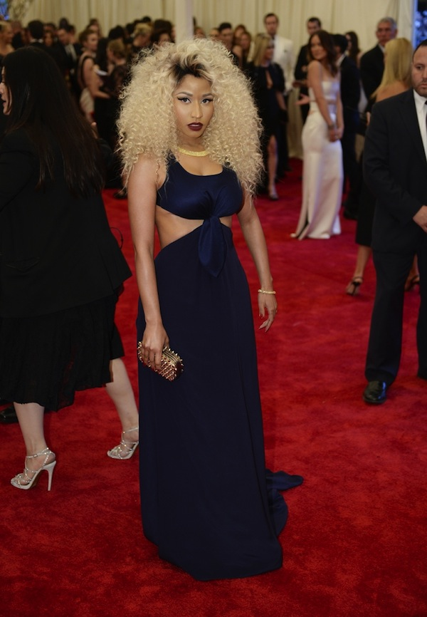12 nicki  minaj  kerry washington met gala punk chaos to couture costume instute 2013