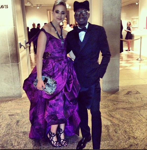 Jenke Ahmed Talley elisabeth thurn und taxis instagram met gala 2013 costume institute punk chaos to couture
