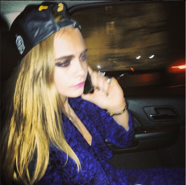 cara delevingne instagram met gala costume institute 2013 punk chaos to couture