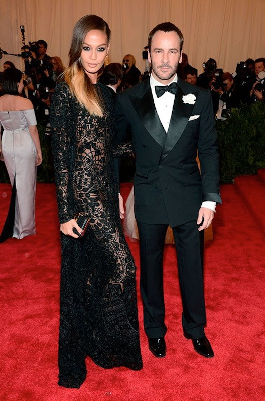 joan smalls tom ford met gala 2013 punk chaos to couture costume instute