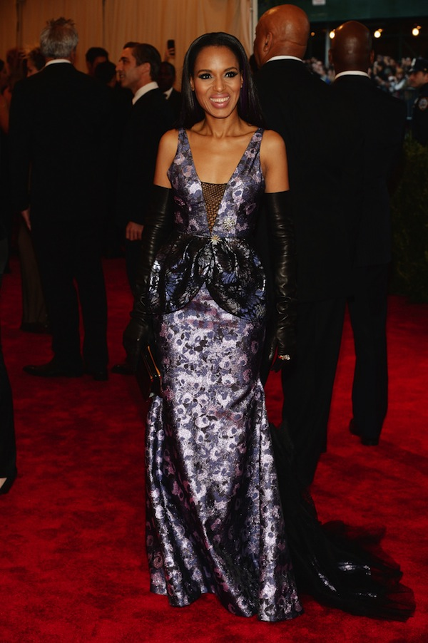 kerry washington met gala punk chaos to couture costume instute 2013