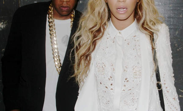 00 beyonce carta release party roberto cavalli embellished spring 2013 blouse and blazer