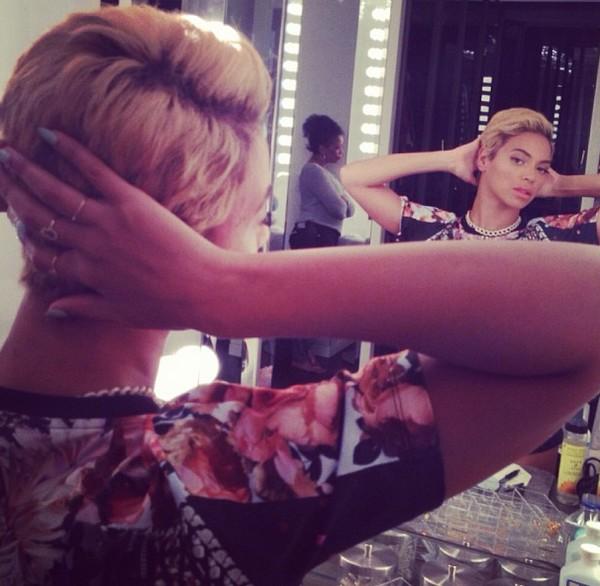 Beyonce-Instagram-Pixie-Cut