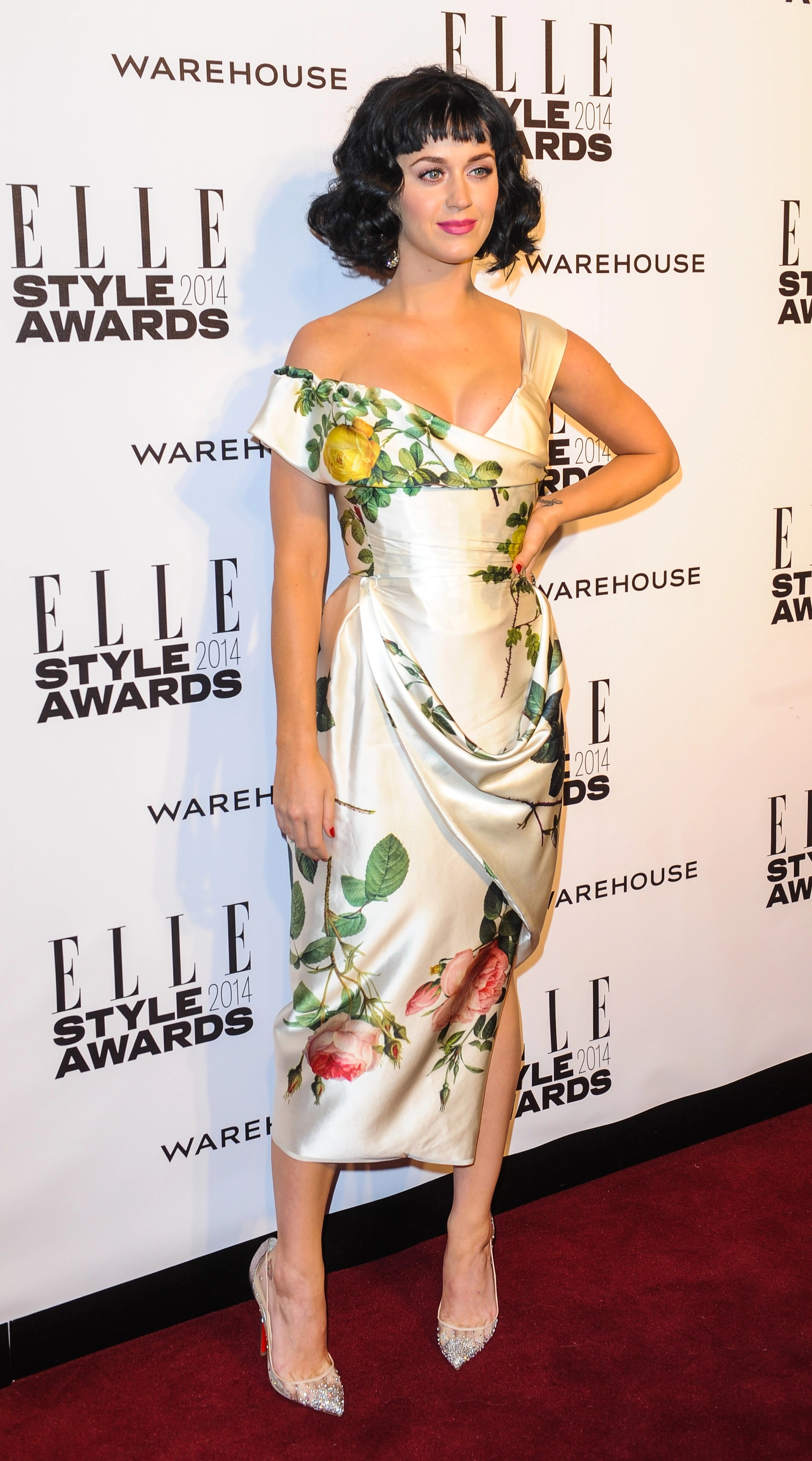 Katy Perry attends the Elle Style Awards 2014 **USA ONLY**