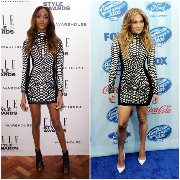 Jourdan-Dunn-vs-Jennifer-Lopez-in-Tom-Ford-Black-and-White-Dress