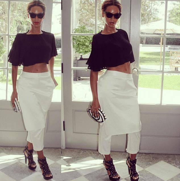 Beyonce Instagram Charlotte Olympia Eyeball Clutch