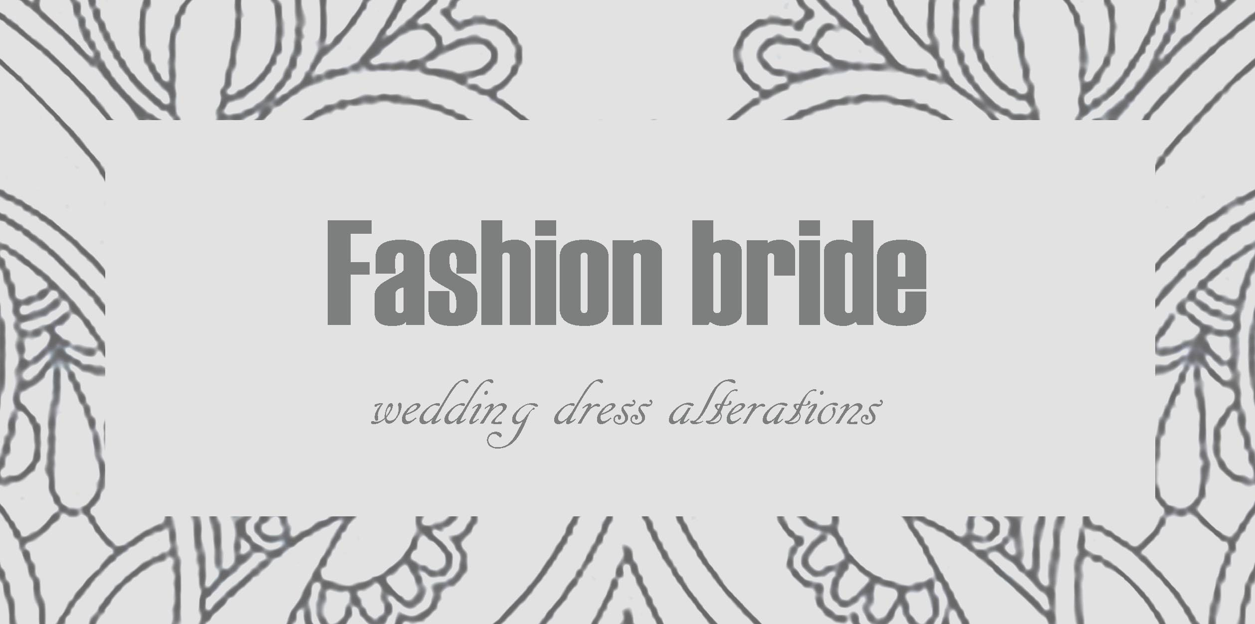 Dressmaking and bridal alterations