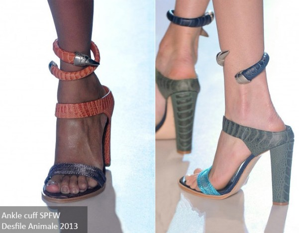 Ankle cuff SPFW