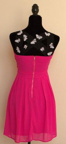 DIY Design Variation: Pink Dress Black Lace Clothing Kit
