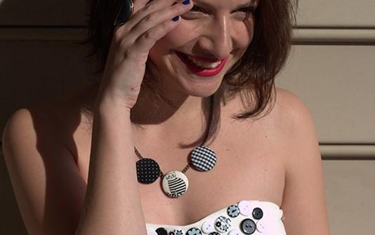 DIY Cute As A Button Dress