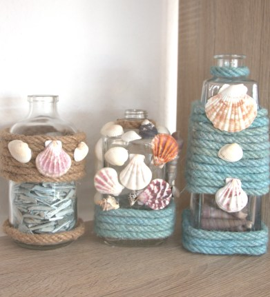 How to decorate bottles