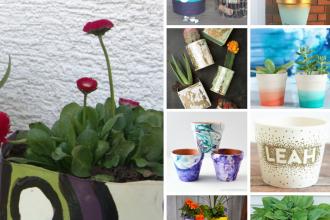 10 Easy DIY Plant Pots Ideas
