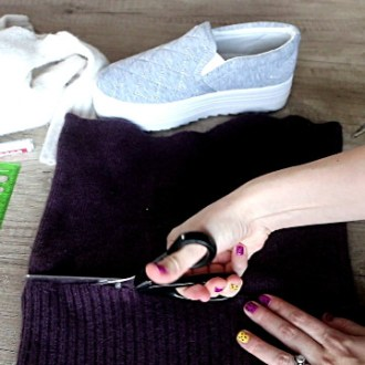 DIY Shoes How to Cover Shoes with Fabric