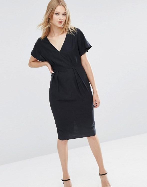 Asos wiggles black dress $67.9